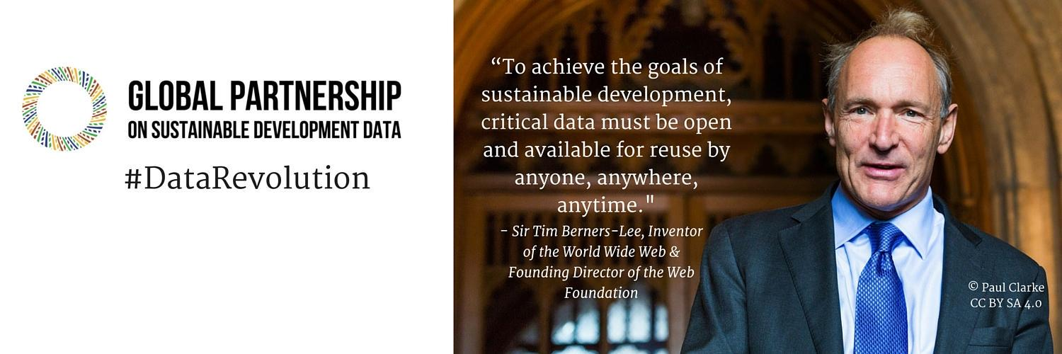 @webfoundation on open data and the SDGs